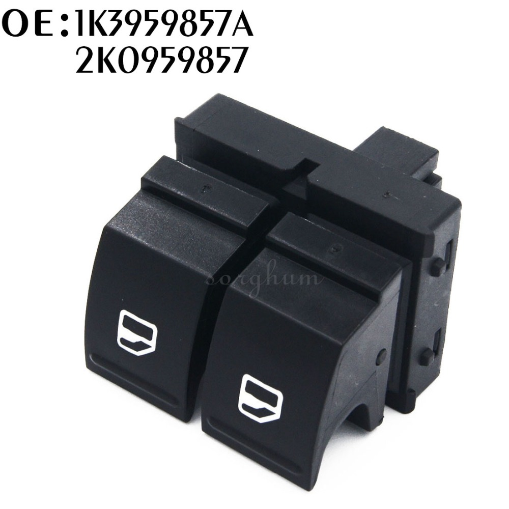 2K0959857 1K3959857A OEM Driver Side Electric Door Window Switch Replacement For VW Golf GTL MK5 Window Switches P25
