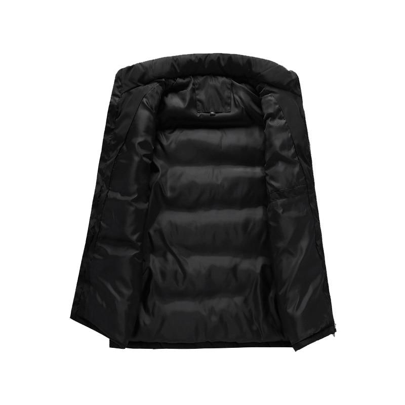Image 5 - Faliza 新ブランドメンズ冬のノースリーブジャケットとコート男性のベストオム冬カジュアルコートプラスサイズ 5XL MJ112ベスト & チョッキ   -