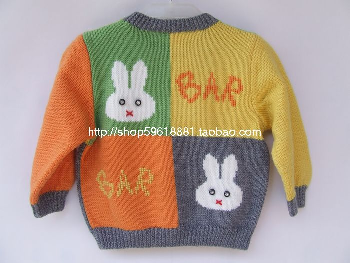 4ffe48965 Hand Knitted Wool Cardigan Sweater for Baby Girl and boy 6 12 13 18 ...