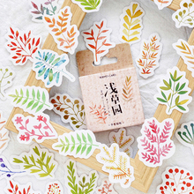45PCS/PACK Kawaii Cute Flower Leaf Sticker Scrapbooking Stickers Marker Diary Decorate School Stationery Bullet Journal sl1710