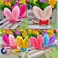 Hot Sale Girl Baby Hair Clips Kawaii Rabbit Ear Hair Clip Cute Hairpins Fashion Kids Clips Barrettes Ten Colors Accessories