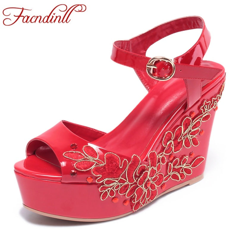 FACNDINLL summer beach sandals sexy open toe wedges gladiator sandals women high heels platform women wedding dress casual shoes summer shoes woman platform sandals women soft leather casual open toe gladiator wedges women nurse shoes zapatos mujer size 8