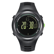 Men s sport Digital watch Hours Running Swimming watches Altimeter Barometer Compass Thermometer Weather Pedometer Wrist