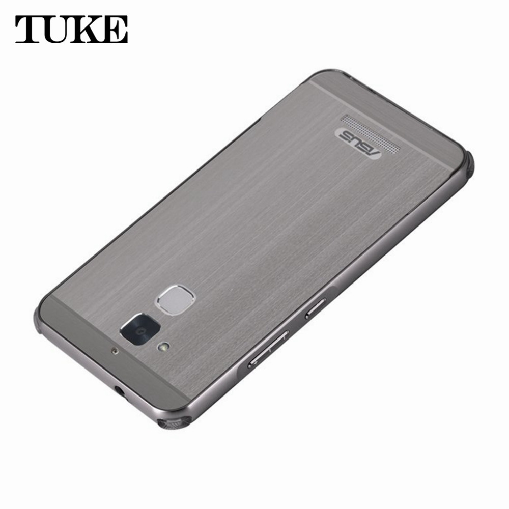 Case For <font><b>Asus</b></font> ZenFone 3 Max <font><b>ZC520TL</b></font> For Samsung LG Google Aluminum Metal Frame+ Acrylic PC Back Phone cover for ZenFone3 Max Z image