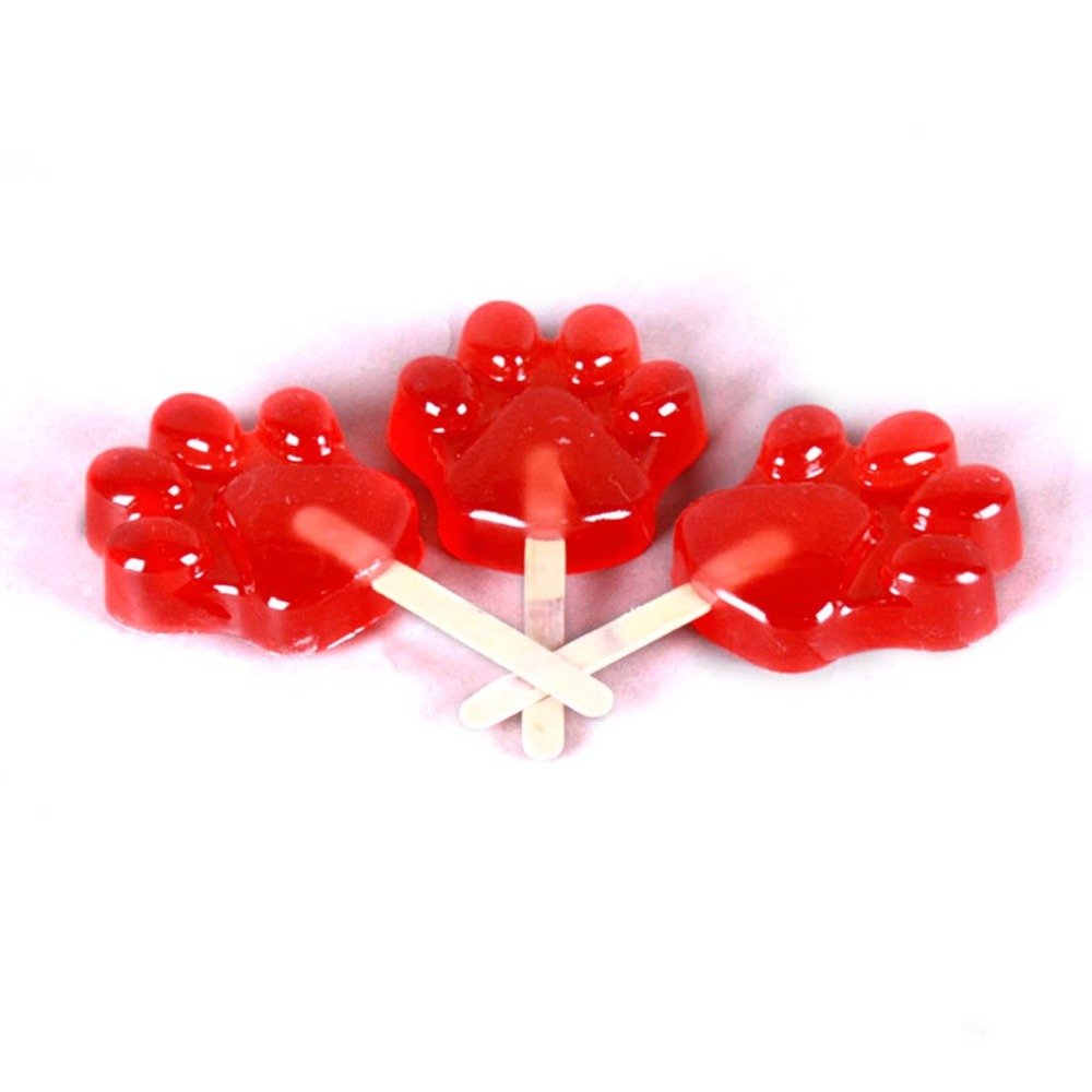 Cartoon Movie Zootopia Nick Wilde Cosplay Prop Pawpsicles Red Fox Paw Shape  Mini Pops Ice Sucker Popsicle Nick Cosplay Accessory In Costume Props From  ...