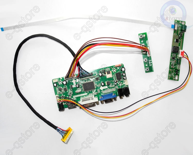 HDMI+DVI+VGA LCD LED Converter Driver board Monitor Kit for LP101WH4-SLA3