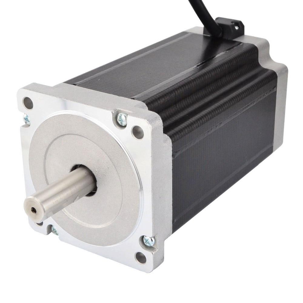 1 axe CNC Kit 13Nm/1841oz. in Nema 34 moteur pas à pas et pilote CNC moulin routeur tour Robot - 3