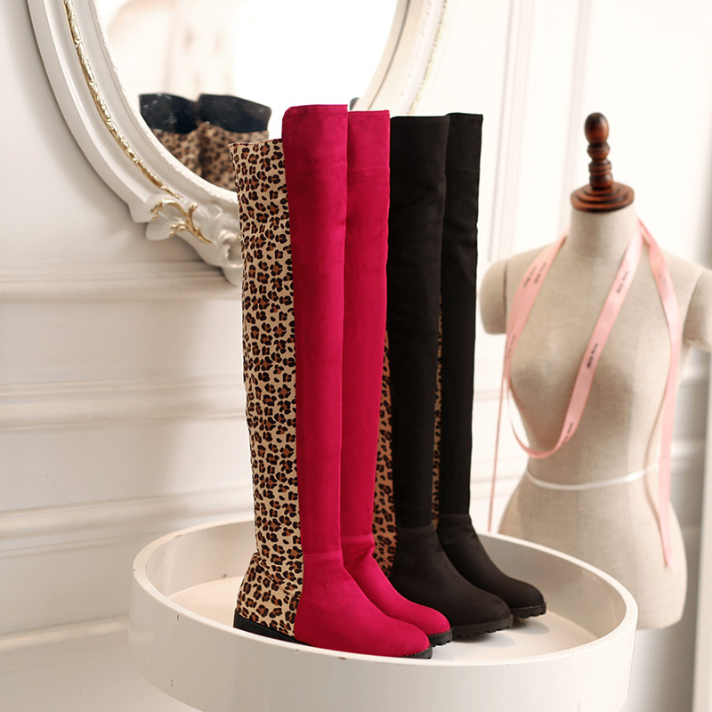 Compare Prices on Flat Thigh High Boots for Sale- Online Shopping ...