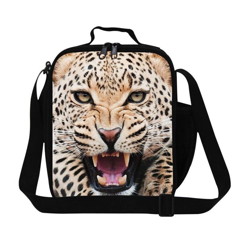 Animal Print Kids Thermal Reusable Bag