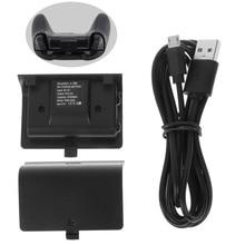 Nowy NI MH 2400MAH zestaw ładujący ładowalny akumulator + USB kabel do Xbox jeden