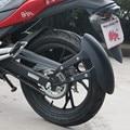 Guardabarros de motocicleta cubierta de respaldo muy fresco modificado rueda de tamaño 14-17 pulgadas