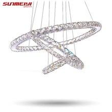 Потолки lustre cristal люстры хрустальная подвесные люстра современные гостиной светильники освещения