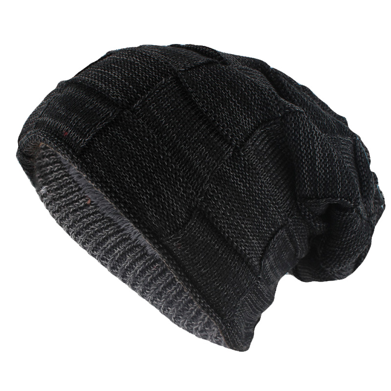 9ed98e3b9ab miaoxi Hip Hop Fashion Adult Winter Skullies   Beanies For Men Warm Casual  Hat Knitted Unisex Solid Gorros Women Woolen Hats SIZE 52-61CM Fit Most  People