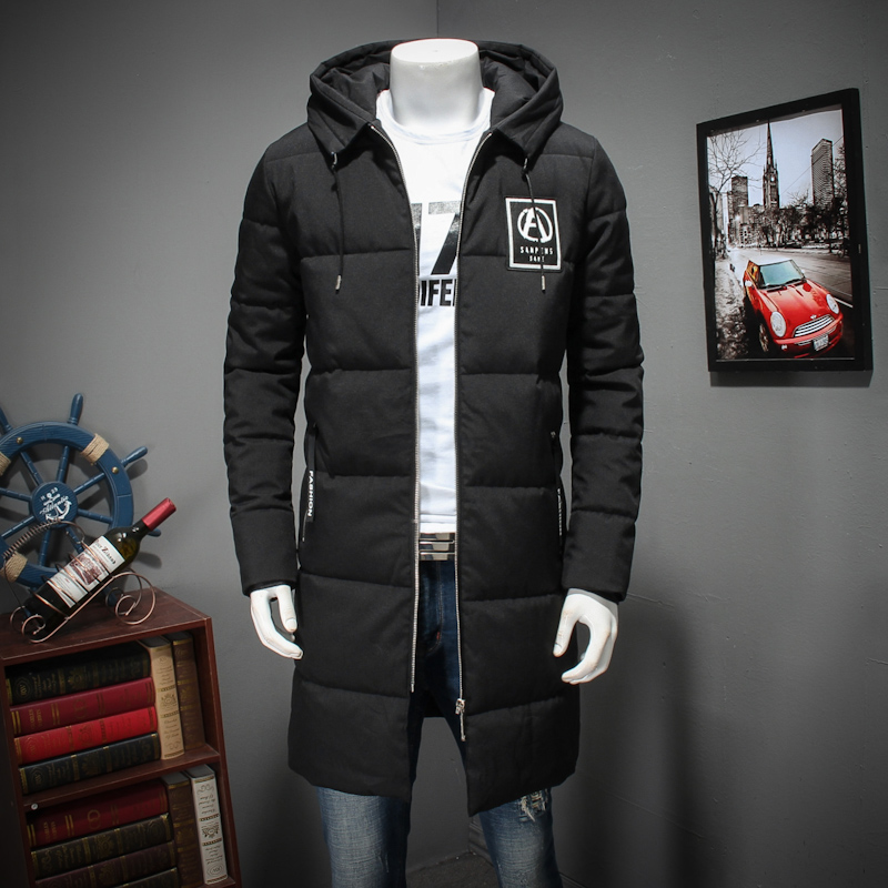 2017 new plus size 8XL 7xl 6Xl Men Winter Casual New Thick Padded Jacket Zipper Loose Men Coats X-long Parka Outwear Warm hooded e artist men s long winter jacket velvet padded jackets trench coats parka thick fit casual outdoor black wine plus size 5xl a65