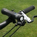 Portable Bluetooth Multi Bike Speaker,5 in1 LED Flashlight/Bluetooth Bycicle Speaker with Power bank,Hands free Mic bike speaker
