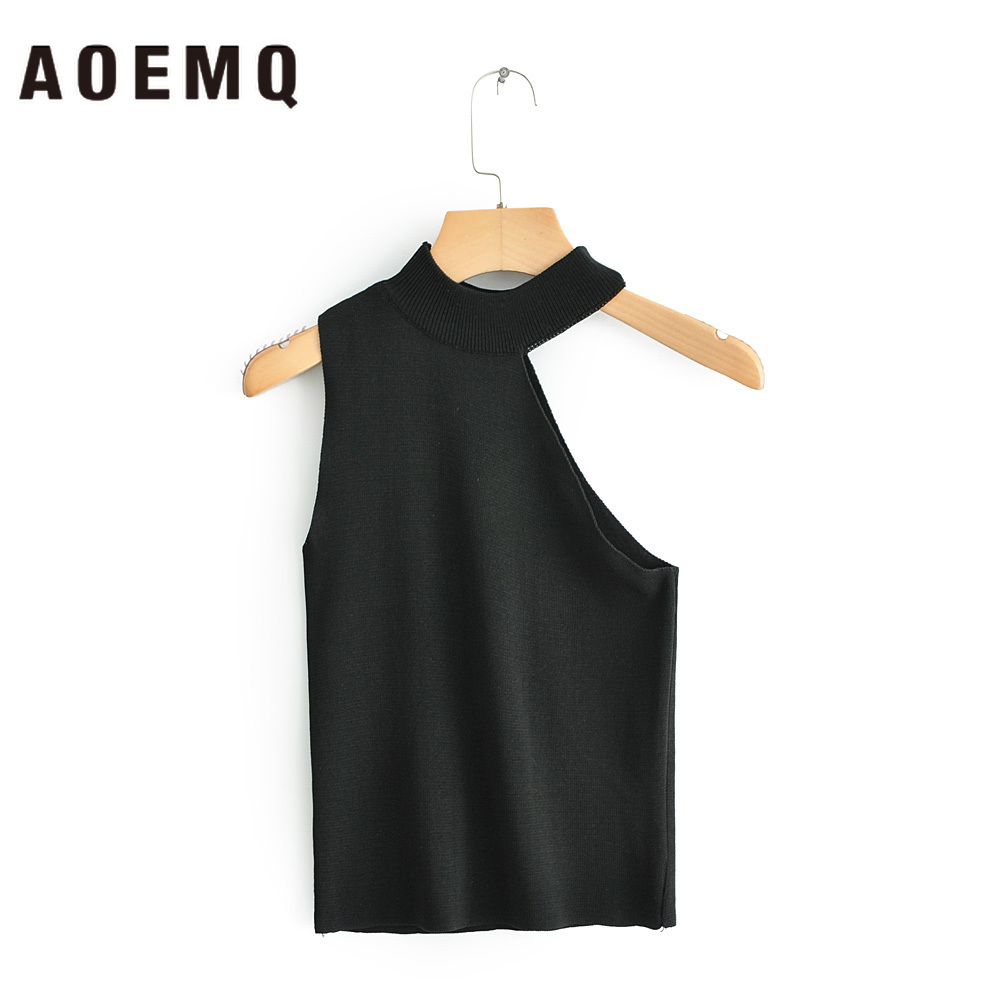 AOEMQ   Blouse   Sexy Fashion Splice Open Back Gothic   Blouse     Shirts   Bar Party Club Wear Summer Suit Women Tops for Lady Clothing