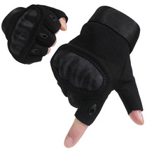Half Finger Tactical Gloves Motorcycle Riding Gloves Hard Shell Protection Shooting Army Training Gloves Non-slip Wear-resistant boodun fighting ghost shell tactical gloves wear resistant non slip mechanical tactical gloves fitness gloves