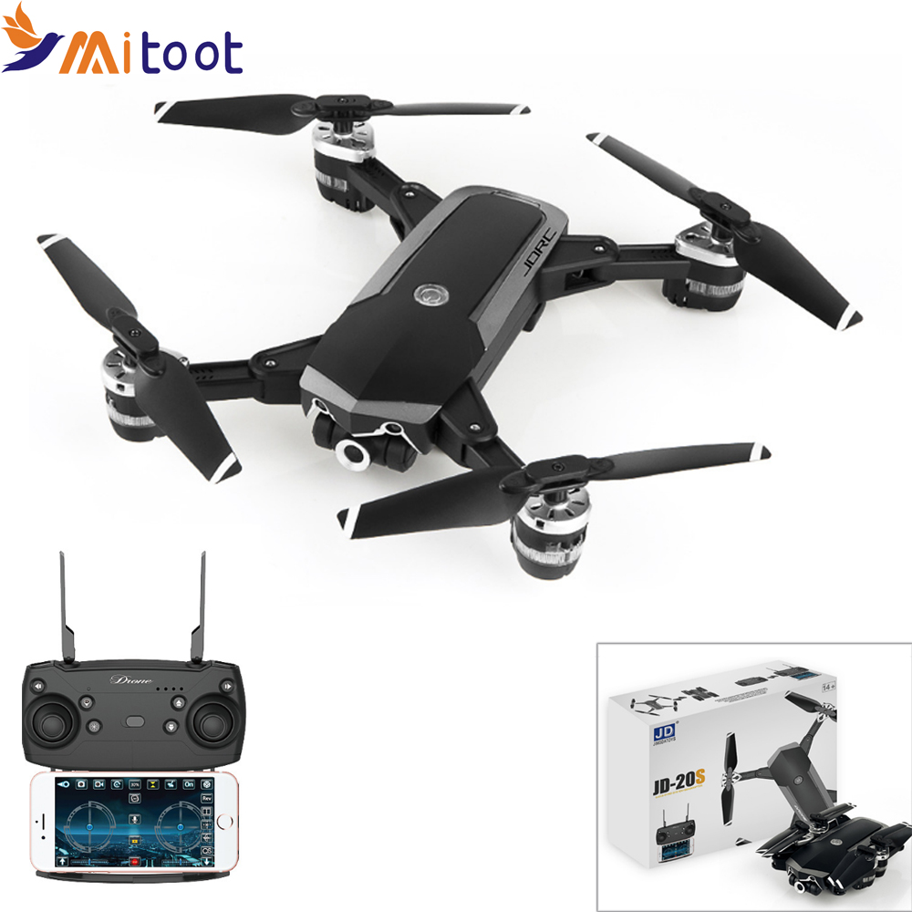 Mitoot JD-20S JD20S WiFi FPV Foldable Drone 2MP HD Camera With 18mins Flight Time RC Quadcopter RTFMitoot JD-20S JD20S WiFi FPV Foldable Drone 2MP HD Camera With 18mins Flight Time RC Quadcopter RTF
