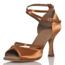 Marque Nouveau Noir De Danse Latine Chaussures Femmes/Filles/Dames Plus La Taille Bas Haut Talon 6 cm 8 cm salle de bal Salsa Chaussures De Danse Latine