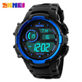 SKMEI 1113 Popular Brand Men Military Outdoor Sports Fashion Watches Digital LED Wristwatches Climbing Alarm Date Clock