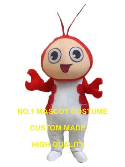 lobstar babe mascot costume Crayfish shrimp custom cartoon character cosplay carnival costume 3036