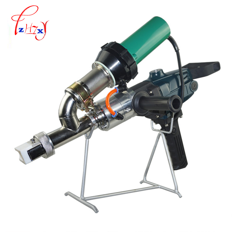 Extruded plastic welding gun PP / PE plastic extrusion machine automatically hot air gun (Single heating) LST600F 220V 1PC