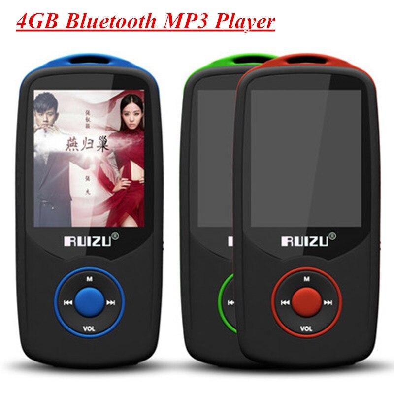 Ursprüngliche Ruizu X06 Bluetooth Mp3 4g Drahtlose Hifi Mp3 Musik Player Lautsprecher Sport Verlustfreie Recorder Walkman Fm Radio W/tf Slot Unterhaltungselektronik