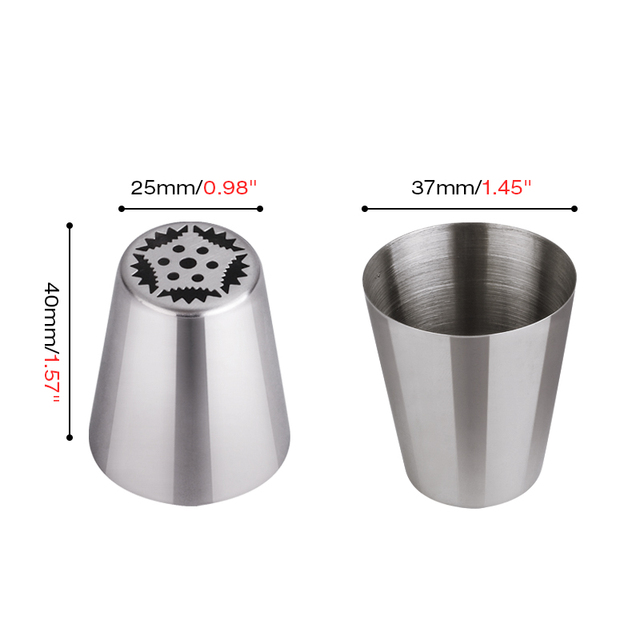 Nozzles Cake Cupcake Decoration Nozzles Stainless 3