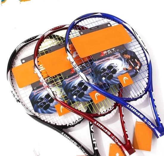 PCT Ti Spirit S1 Tennis Racquet racket bat Grip  4 1 4 or 4 3 8 for  female girl women junior beginner colour blue red black 0434e0565ab87