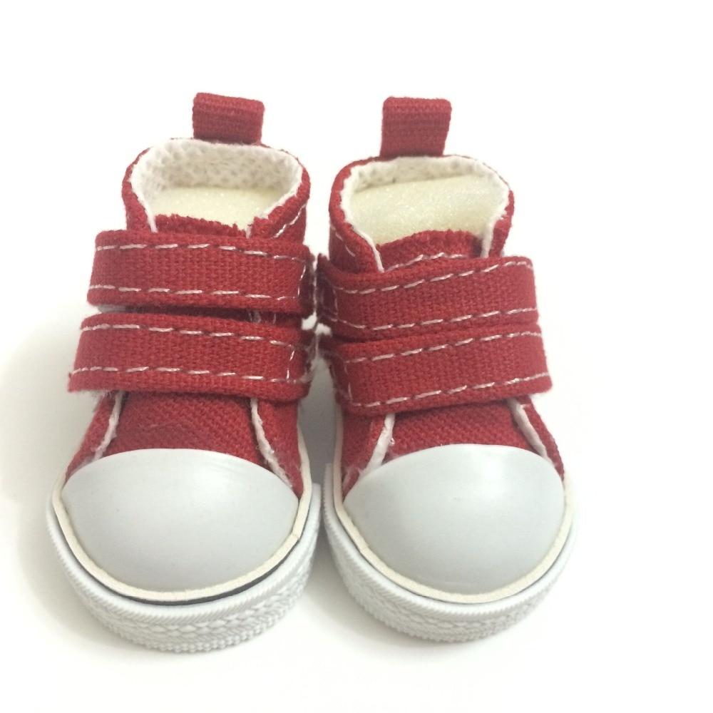 5 cm 미니 장난감 캔버스 신발 1/6 bjd 인형 신발 액세서리 인형, 패션 인과 스니커즈 신발 인형 부츠 12 짝/몫-에서인형 액세서리부터 완구 & 취미 의  그룹 2