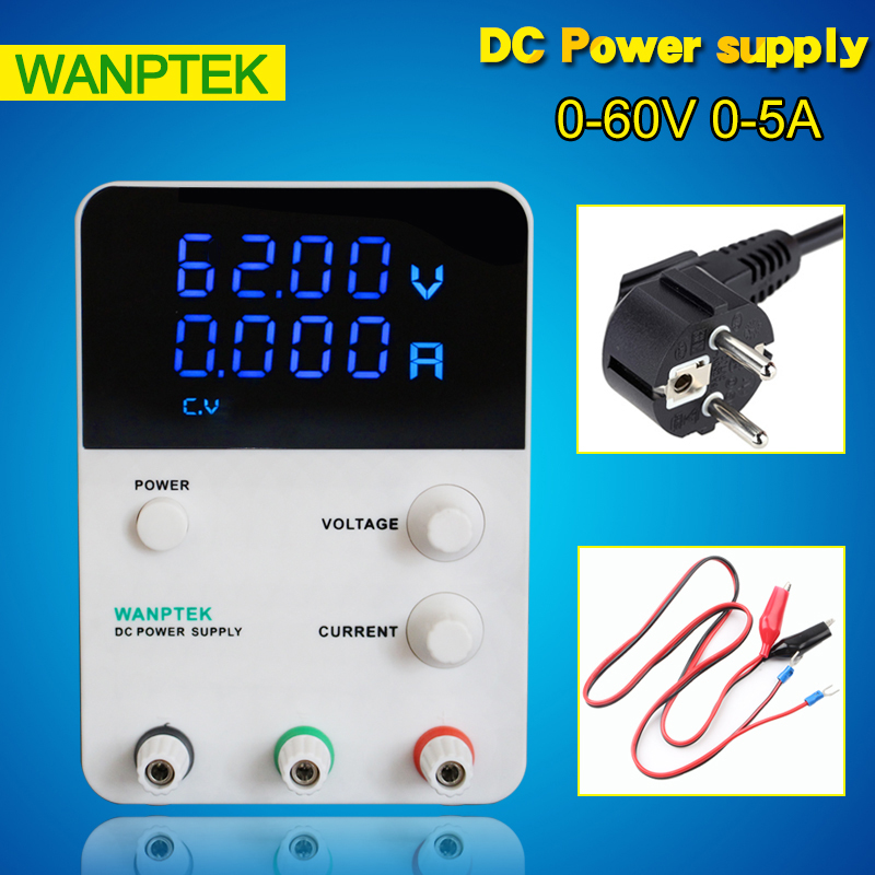 220V GPS605D high precision Adjustable Digital DC Power Supply 60V/5A for scientific research service Laboratory 0.01V 0.001A cps 6011 60v 11a precision pfc compact digital adjustable dc power supply laboratory power supply