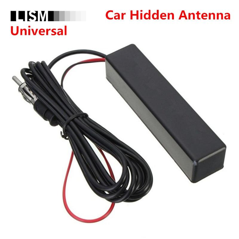 HIDDEN AM//FM ANTENNA UNIVERSAL CAR TRUCK STEREO RADIO NO MOUNTING PLUG /& PLAY!