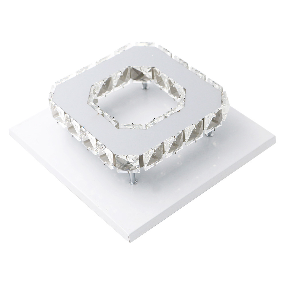 SANYI 12W Ceiling Lamp Crystal 85-265V LED Bulb Base High Light Transmittance Cool White/Warm White Modern Pendant Lamp high quality 9w epistar led spot bulb e27 base par38 led light 900lm white ac85 265v ce