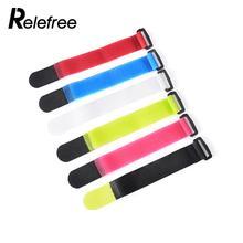 10PC Fishing Rod Tie Buckle Fastening Tape Sturdy Random Colour Nylon Tie Buckle Moveable Magic Tape Sensible Self Adhesive Tie
