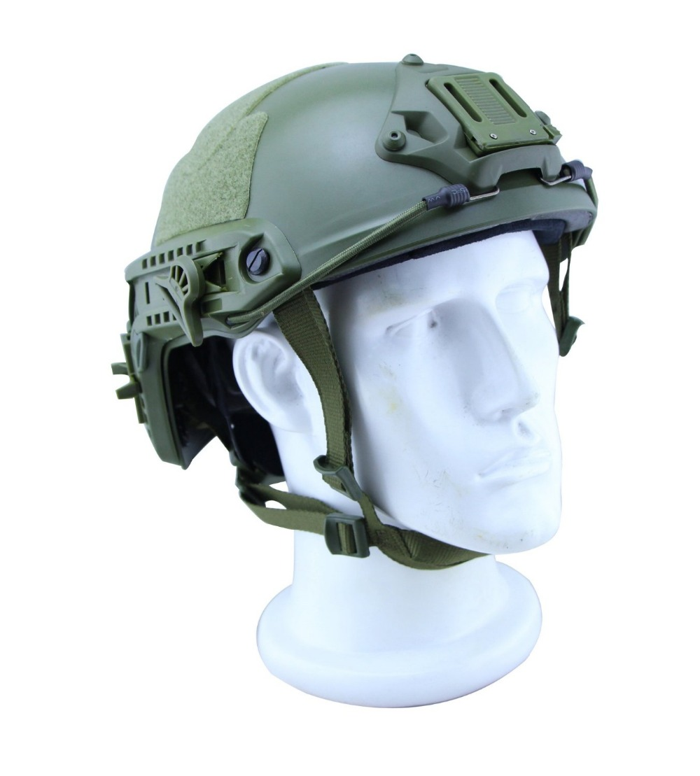 VILEAD Military Tactical Helmet Tactical Lightweight Tactical ABS Helmet for Airsoft Paintball Games Bike Pararescue Jump Helmet