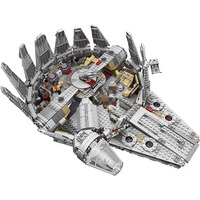 Factory Sale Price Model Building Blocks Bricks Star Wars Millennium Falcon Figure Compatible With Legoed Gift