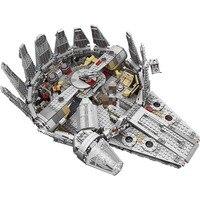 1381 шт. Star Wars серии СОВМЕСТИМЫ Legoingly 75212 05007 Сокол Тысячелетия цифры модель строительные блоки игрушки для детей