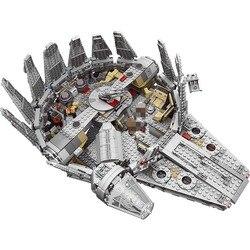 1381pcs Factory Sale Price Star Wars Model Building Blocks Millennium Falcon Figure Compatible LegoINGLYS Technic Toys for Kids