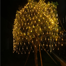 1.5M*1.5M / 3M*2M 6M*4M LED Net Lights EU 220V Christmas  Outdoor Indoor Waterproof string lights For NEW YEAR