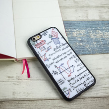 Math Formulas / Graph Charts / Equations TPU Silicon cover for iPhone 5 5s 6 6s 6plus 6s plus
