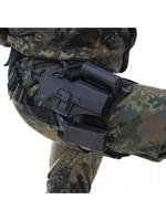 4in1 טקטי Drop Leg אקדח נרתיק CQC פולימר יד ימין/ירך אקדח נרתיק גלוק 17, 19, 22, 23 31 32 31-0006 P