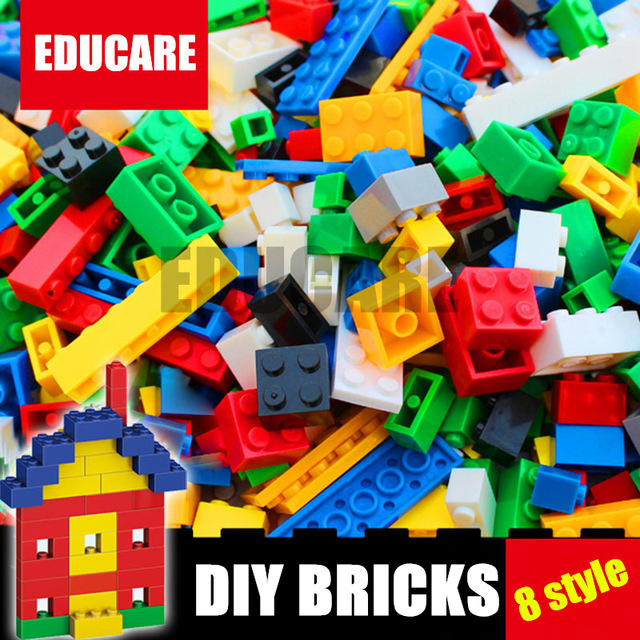 8 styles DIY Educational Building Brick City Creative Brick Toy model Building Block Bulk Bricks Compatible legoes kid gift set loz mini diamond block world famous architecture financial center swfc shangha china city nanoblock model brick educational toys