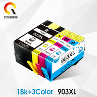 CMYK SUPPPLIES remanufactured For hp 903 903XL 907 Ink Cartridge with chip Compatible for HP OfficeJet 6950 6956 Pro 6960 6970