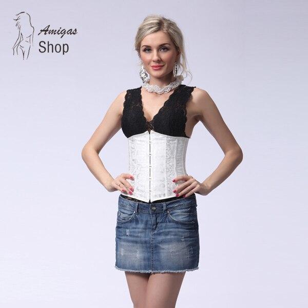 best website c0794 308bf Sexy Gothic Mieder Steampunk Korsett Frauen Bustier und ...