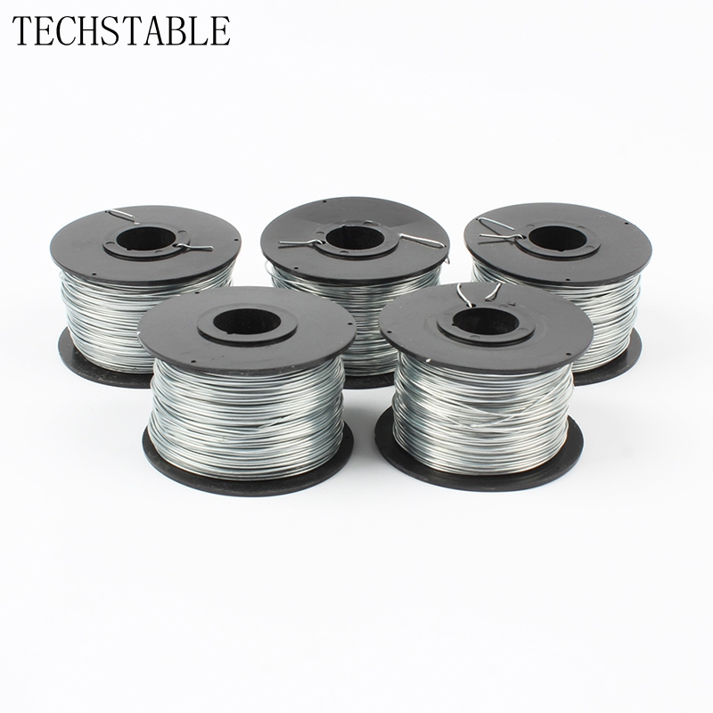 TECHSTABLE High Quality 0.8mm 100m Steel Wire Of Automatic Steel Binding Machine , Wire Coil