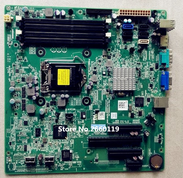 High quality desktop motherboard for T110 II PM2CW W6TWP 2TW3W 15TH9 Fully tested high quality desktop motherboard for 580
