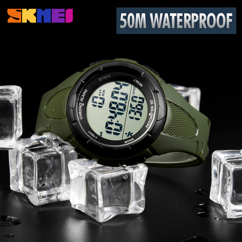2019 Fashion Sports Watches Pedometer LED Digital Watch Fitness For Men Women Outdoor Sport Wristwatches Sports Watches Hotsell