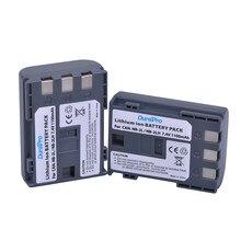 DuraPro 2 個 1100 mAh NB-2L NB 2L NB2L NB-2LH 交換リチウムイオンカメラのバッテリーキヤノン 350D 400D G7 G9 s30 S40 Z1 DC310 DC320