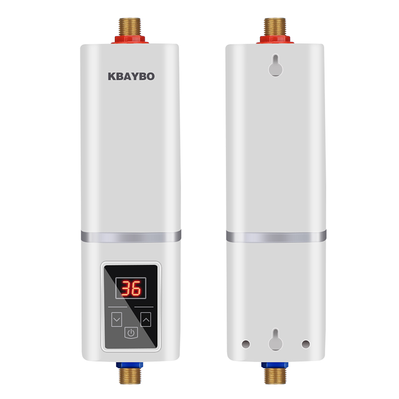 5500w Instant Electric Tankless Water Heater Instantaneous Water Heater Instant Electric Water Heating Fast 3 Seconds Hot Shower