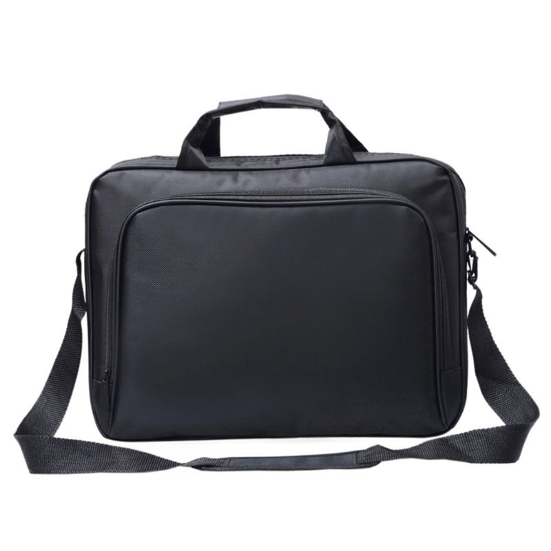 Unisex Nylon Material New Briefcase Bag 15.6 Inch Laptop Messenger Bag Business Office Bag For Men Women